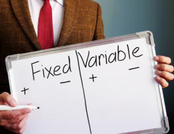 fixed vs variable